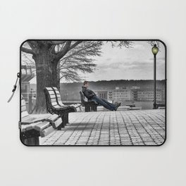 Alone on the Hill Laptop Sleeve