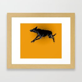 Biko sleeping Two Framed Art Print