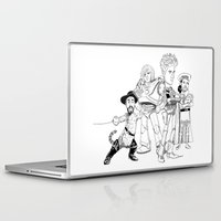 bastille Laptop & iPad Skins featuring OPC Bastille by Other People's Characters