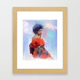 Daydreaming and I'm thinking of You Framed Art Print
