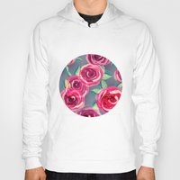 roses Hoodies featuring roses by Vita♥G