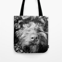 harry Tote Bags featuring HARRY by PRE Media