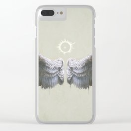 Icarus Wings Clear iPhone Case
