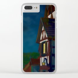 Black Forest Travel Poster Germany Clear iPhone Case