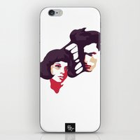 lovers iPhone & iPod Skins featuring Lovers by Ralph Moreau