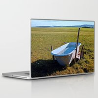 outdoor Laptop & iPad Skins featuring Outdoor pool | conceptual photography by Patrick Jobst