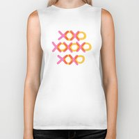 xoxo Biker Tanks featuring XOXO by ghennah