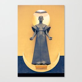 Our Lady of the Angels Canvas Print