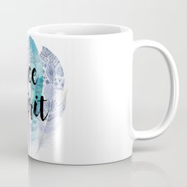 Free Spirit & Feathers Coffee Mug