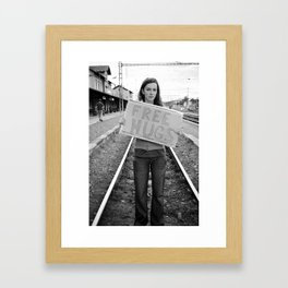 for free Framed Art Print