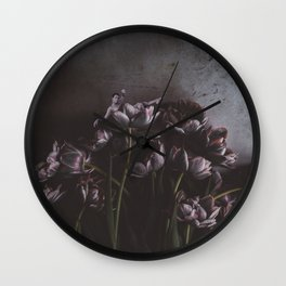 Crystalized Wall Clock