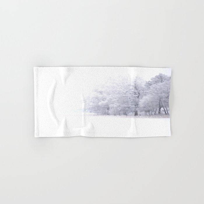 White Forest Hand & Bath Towel
