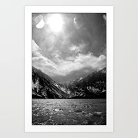 Convict Lake, CA Art Print
