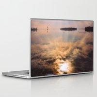 mandela Laptop & iPad Skins featuring spring reflection by LEEMARIE