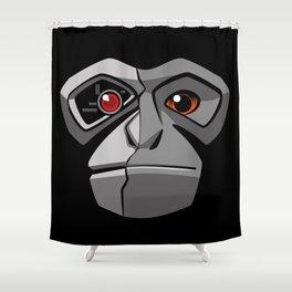 Gibbonator Shower Curtain