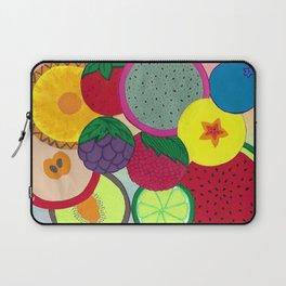 Fruity Circular Slices Laptop Sleeve