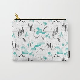 Outdoor map Carry-All Pouch