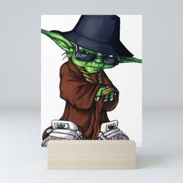 Yoda of HipHop Mini Art Print