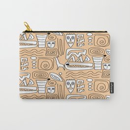 African Tribal  Symbols Carry-All Pouch