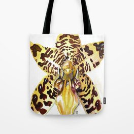 Ansellia Africana Orchid Tote Bag