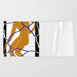 HOPLITE Beach Towel