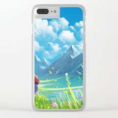Howls Moving Castle Clear iPhone Case
