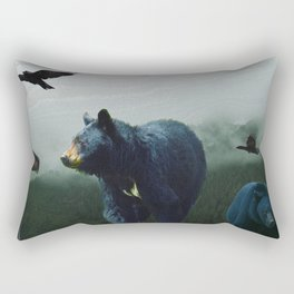 The Sacred Trail of the Great Bear Rectangular Pillow