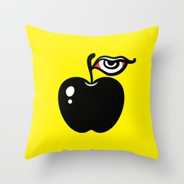 Forbidden Fruit I Throw Pillow