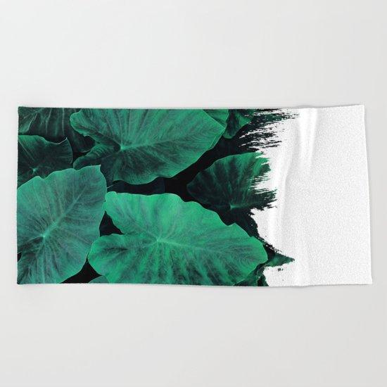 Painting on Jungle Beach Towel