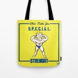 Strength S.P.E.C.I.A.L. Fallout 4 Tote Bag