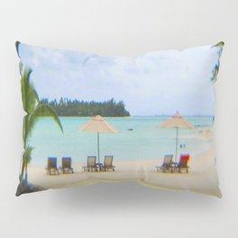 A Dreamy Day at a Tahitian Beach, Bora Bora Pillow Sham