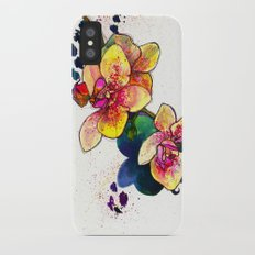 Inky Orchid iPhone X Slim Case