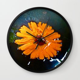 Free-floating Wall Clock