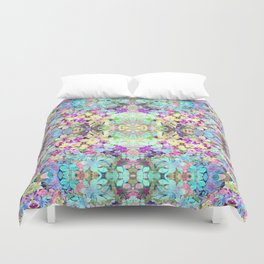 Watercolor Floral Duvet Cover