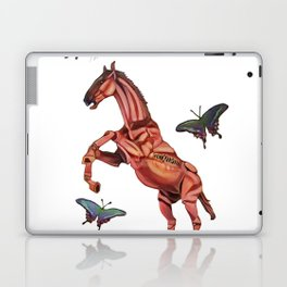 horse and butterfly Laptop & iPad Skin