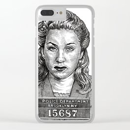 Double Indemnity Clear iPhone Case