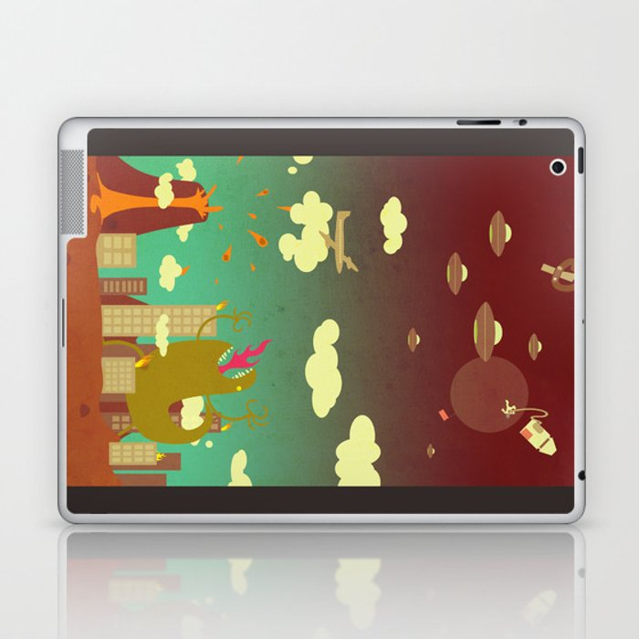 The end of the world as we know it! Laptop & iPad Skin