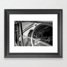 Car Cockpit 09 Framed Art Print