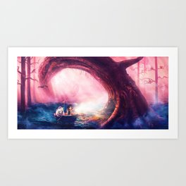 LITTLE PIRATES Art Print