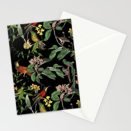Hummingbirds Tropical Paradise Stationery Cards
