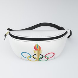 Olympic Rings Fanny Pack