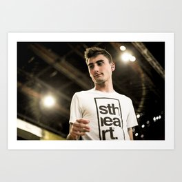 Kyle Pavone | We Came As Romans Art Print
