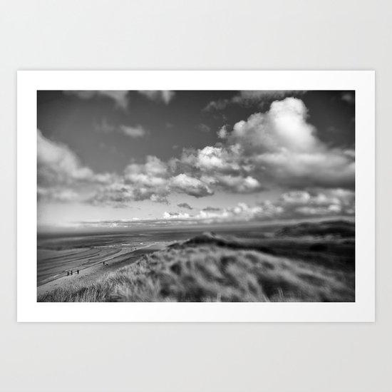 Dune Tilt Shift Art Print