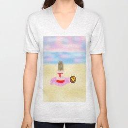 Beach Girl Unisex V-Neck
