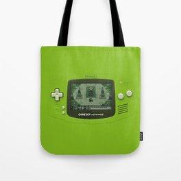 Gameboy Zelda Link Tote Bag