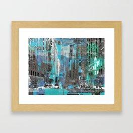 CENTRAL CITY III Framed Art Print
