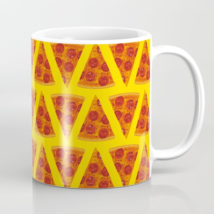 Pizza Pattern | Fast Food Cheese Italian Coffee Mug