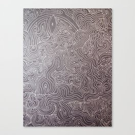 Melting eye Canvas Print