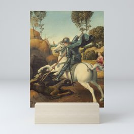 Saint George and the Dragon Mini Art Print