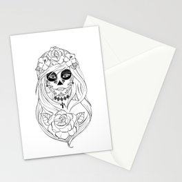 Santa Muerte NB Stationery Cards